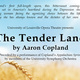 Opera Theatre: The Tender Land
