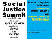 Social Justice Summit: Progressive Activism in the New Political Climate with Associate Vice Provost A.T. Miller