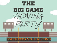 The Big Game Viewing Party