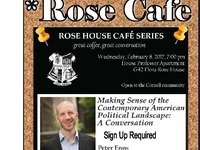 *Rose Cafe with Peter Enns