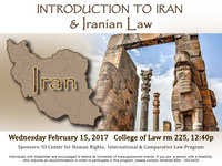 Introduction to Iran & Iranian Law