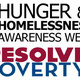 Hunger and Homelessness Awareness Week 2012
