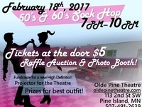 50's & 60's Sock Hop (Photo Booth, Raffle Auction)