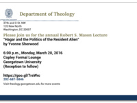 The Annual Robert S. Mason Lecture