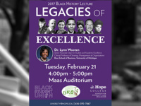Event image for Black History Month Lecture to focus on the