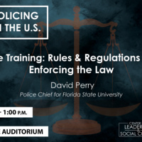 Brown-bag Series: Policing in the U.S.