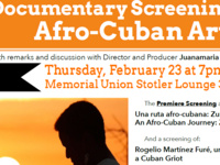 Black History Month: Documentary Screenings on Afro-Cuban Artists