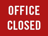 HOLIDAY - office closed 12/23-27/13