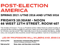Post-Election America: U.S. Immigration Law and Policy