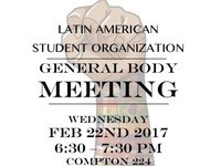 LASO General Body Meeting