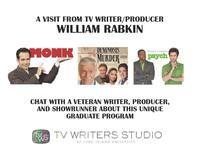 TV Writer/Producer William Rabkin (Monk, Psych) Visit