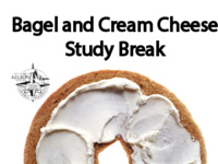 Bagels and Cream Cheese Study Break