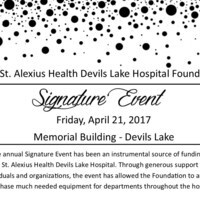 CHI St. Alexius Health Devils Lake Hospital Foundation's Signature Event