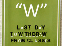 """Withdraw with a """"W"""" - Academic Enrichment Series"""