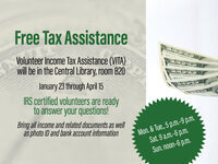 Free, Self Assisted Tax Prep