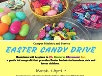 Candy drive for We Cancerve Movement