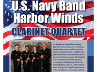US Navy Harbor Winds Clarinet Quartet