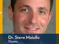 Event image for Continuum Scholars Lecture by Dr. Steve Maiullo