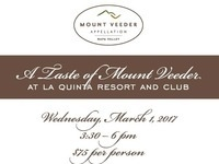 A Taste of Mount Veeder at La Quinta!