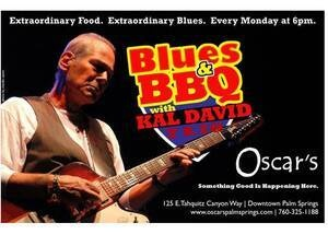 BLUES & BBQ MONDAYS with KAL DAVID TRIO