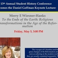 13th Annual History Conference Keynote Speaker