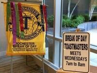 Break of Day Toastmaster's