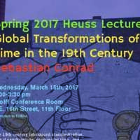Heuss Lecture: Global Transformations of Time in the 19th Century