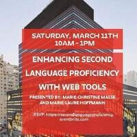 Enhancing Second Language Proficiency With Web Tools