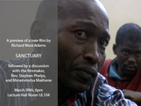 "Preview of ""Sanctuary"" a new film by Richard Ware Adams"