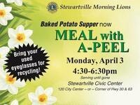 Stewartville Morning Lions - Meal with A-Peel