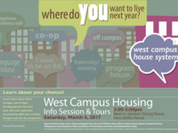 West Campus housing info session