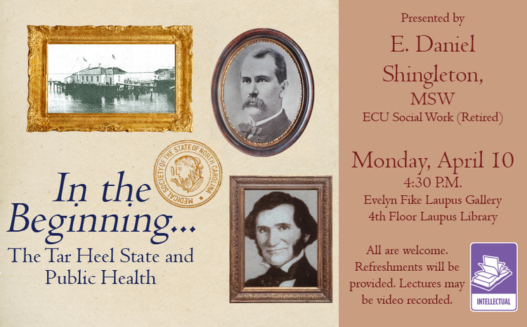 In the Beginning... The Tar Heel State and Public Health