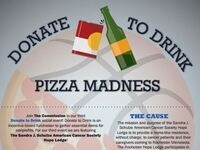 Donate to Drink Pizza Madness