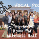 Vocal Point Fall Concert