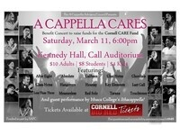 A Cappella Cares, Presented by the A Cappella Advisory Council