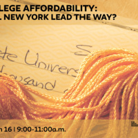 College Affordability: Will New York Lead the Way?