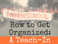 How to Get Organized: A Teach-In