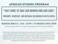 African Studies Program Lecture - Brady G'sell