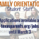 Paid Summer Jobs: Family Orientation Student Staff