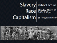 Space and the Making of Race-Capitalism: Public Lecture