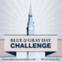 Blue & Gray Day Challenge