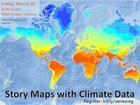 Story Maps with Climate Data