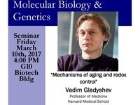 MBG Friday Seminar with Vadim Gladyshev