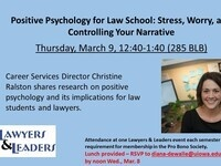 Lawyers & Leaders: Positive Psychology for Lawyers