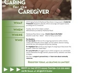 Caring for the Caregiver