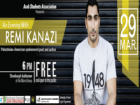 An Evening with Remi Kanazi