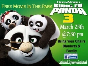 Free Kung Fu Panda 3 Movies in the Park
