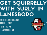 SQUIRRELLY WITH SURLY - PUB CRAWL