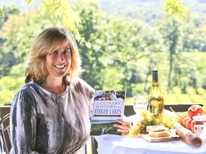 Sommelier Brunch with Laura Falk at the Finger Lakes Cider House
