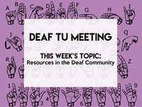Deaf TU Meeting